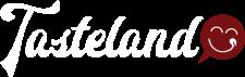 Tasteland_logo_CMYK_White